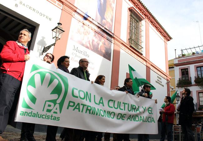 """El PA ha animado """"a la sociedad civil sevillana a seguir apostando y reclamando la Inmaculada"""". / Prensa PA"""