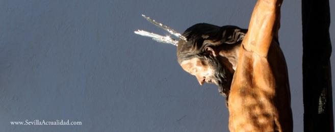 El Cristo de los Vaqueros, de Ruiz Gijón, preside este sábado el Via Crucis de la Fe en Castilblanco / Juan C. Romero