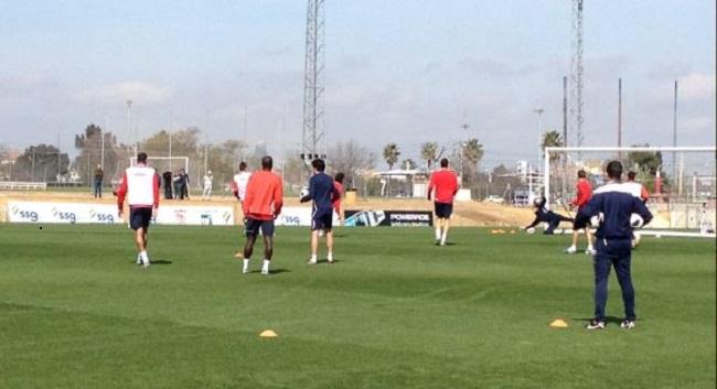 Sevilla-entrenamiento