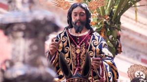 La imagen de La Borriquita procesionó en 2012 junto a El Amor en la tarde del Domingo de Ramos /Graham Fellows (Flickr)
