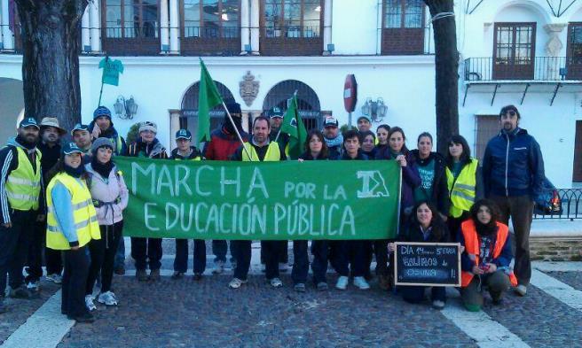La marcha de docentes interinos en defensa de la Educación Pública llega el domingo a Sevilla / Sevilla Actualidad