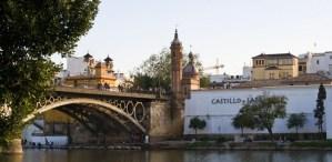 Según el Ayuntamiento, se podrá acceder a Triana desde el Paseo de las Delicias por el puente de Isabel II / Manuel Caballero