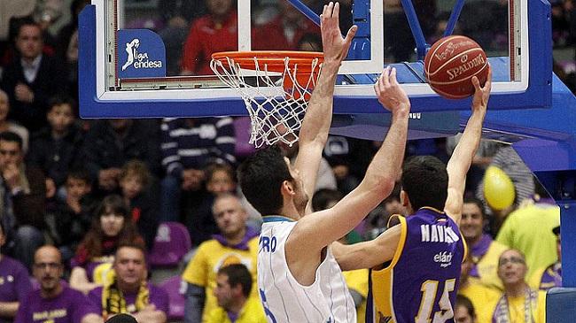 El rebote ofensivo fue una de las grandes claves del partido / ACB