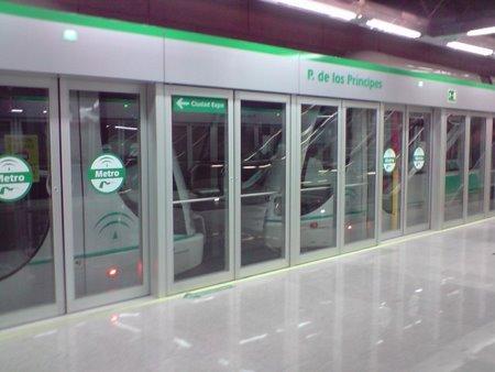 Los responsables de Metro de Sevilla han mostrado las instalaciones a la comitiva taiwanesa./Foto de archivo