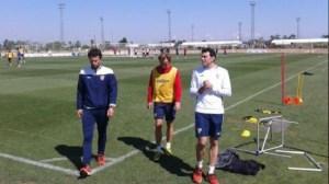 El Sevilla está viviendo un final de temporada bastante accidentado, en lo que a lesiones se refiere / SEVILLA F.C.