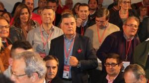 José Antonio Viera durante el 38 Congreso de PSOE en Sevilla en febrero de 2012 / Juan Carlos Romero