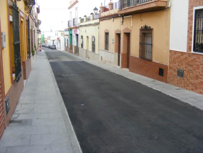 reparacion asfalto calles gines