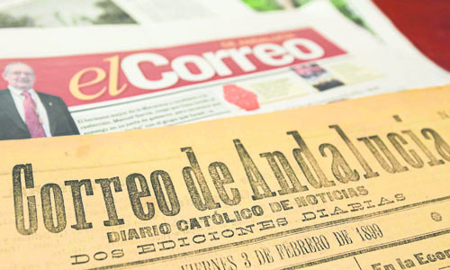 Los trabajadores de El Correo de Andalucía, XXII Premio de Comunicación de la Asociación de la Prensa / El Correo