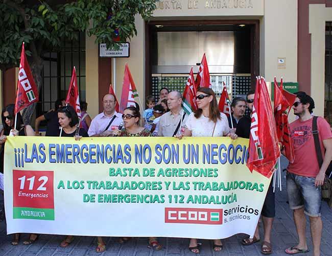Fotografia-CCOO.-Concentracion-emergencias-112