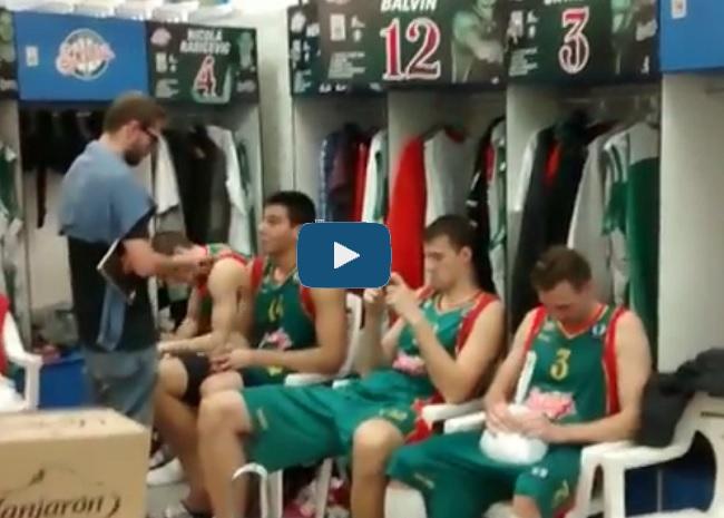 vestuarios baloncesto sevilla