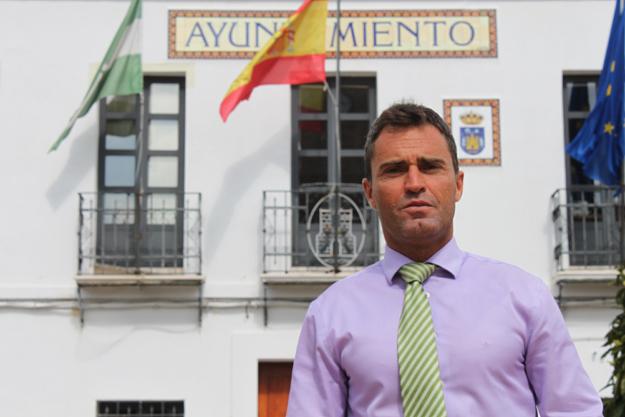 Cecilio Fuentes y los regidores del área de influencia de la planta de residuos radioactivos de El Cabril se movilizan contra el incumplimiento de las compensaciones / Juan Carlos Romero
