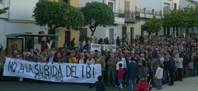 protesta-ibi-espartinas2012