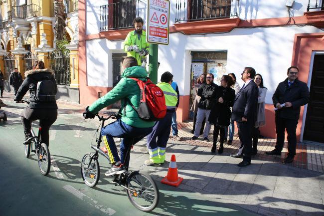 seales carril bici