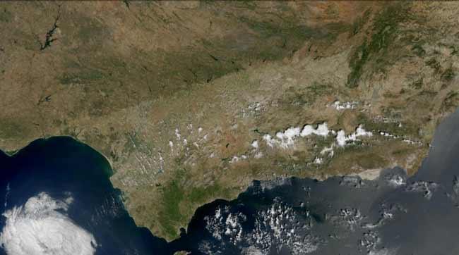 Andalucia satelite