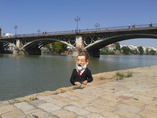 cabezudo Rajoy
