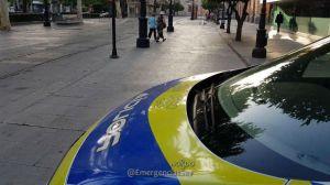 policia avenida constitucion