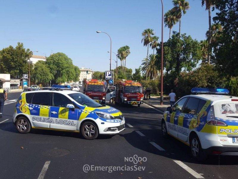 policia bomberos colon