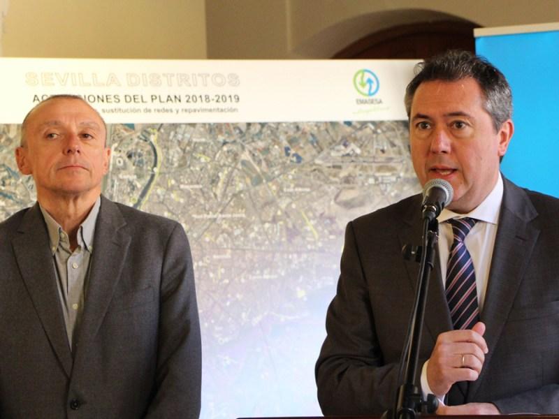 Jaime Palop y Juan Espadas