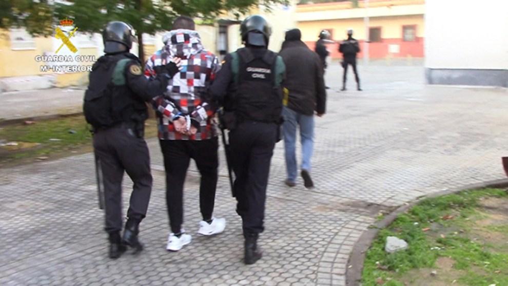 Detención de un miembro del clan por la Guardia Civil