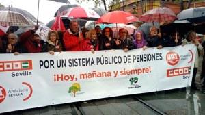 Manifestación por las pensiones /SA