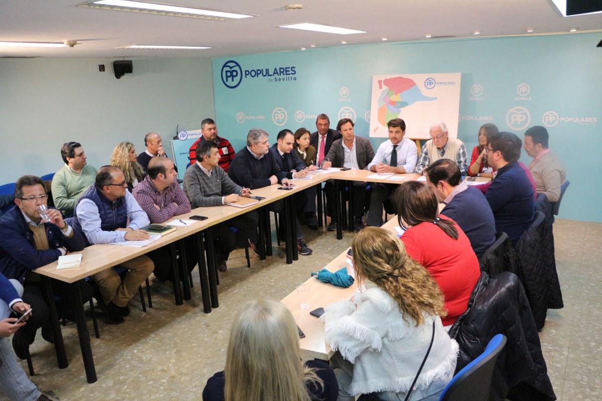 Reunión campaña PP /SA