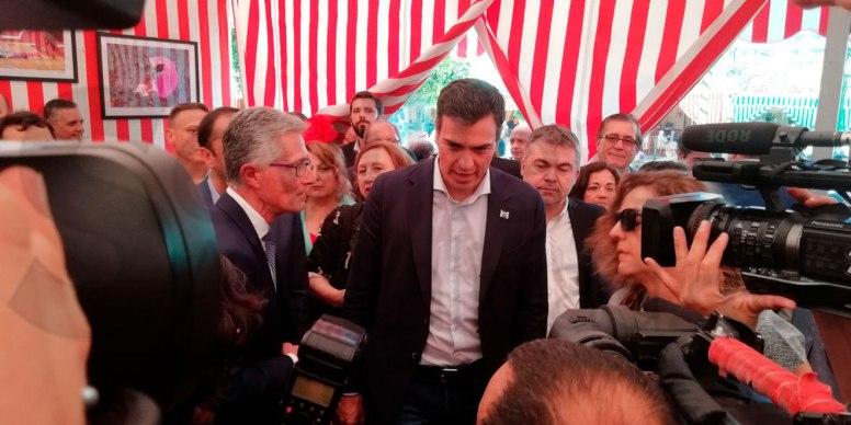 Pedro-Sánchez-Feria-Abril-2018 /SA
