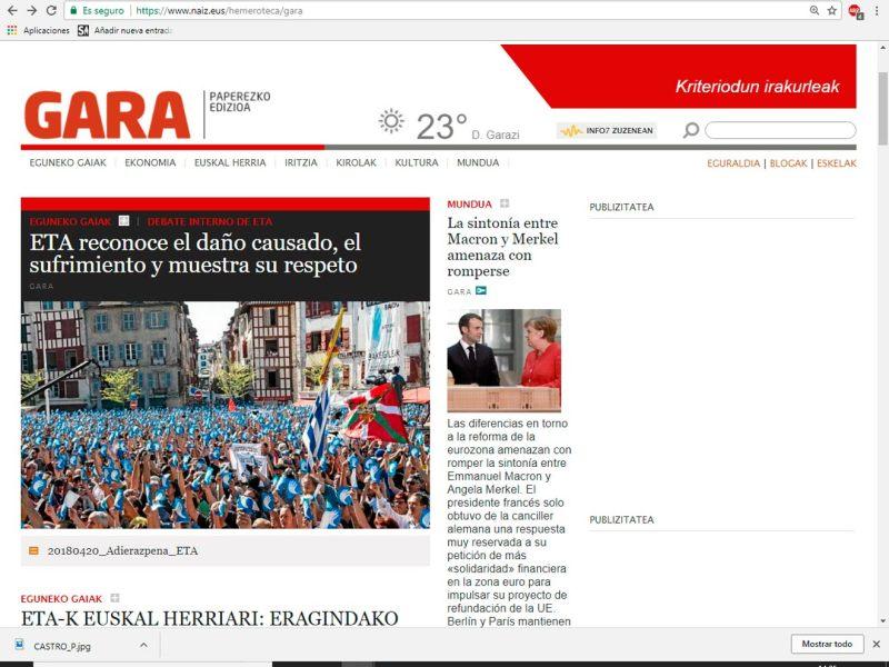 Portada-digital-Diario-Gara /SA