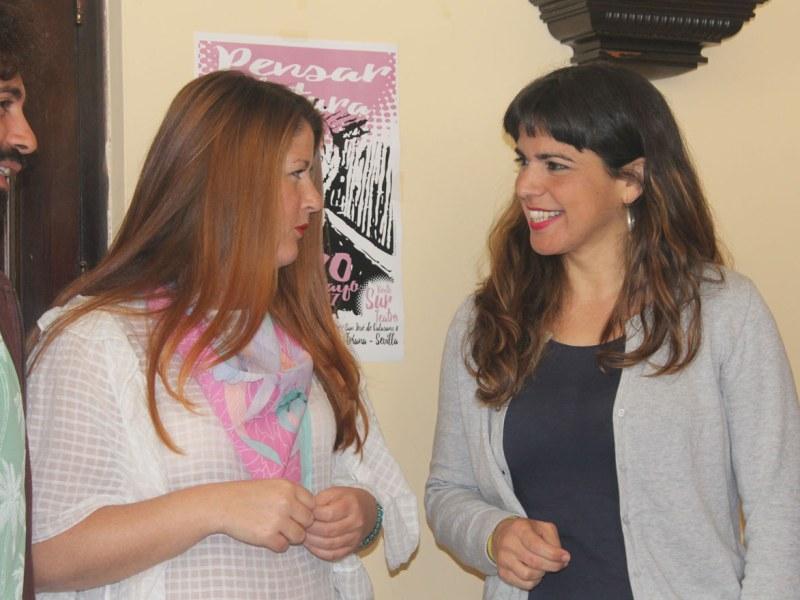 Susana Serrano y Teresa Rodríguez / SA