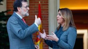 Reunión entre Rajoy y Díaz en Moncloa /@susanadiaz