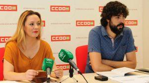 Sara de los Reyes y Carlos Aristu /CCOO