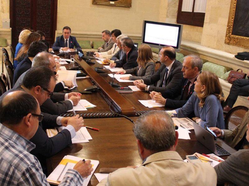 Reunión Plan Estratégico Sevilla 2030 /Ayto. Sevilla