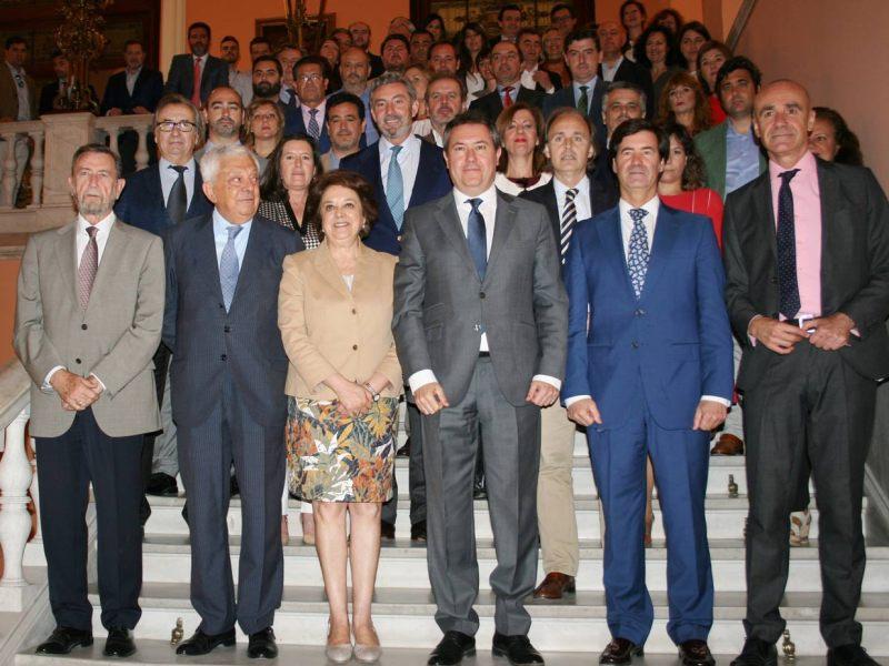 Apoyo de los empresarios a la WTTC /Ayto. Sevilla