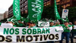 Concentraciones sindicales de mayo /CSIF-A
