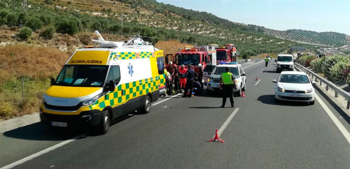 Accidente en Estepa /112