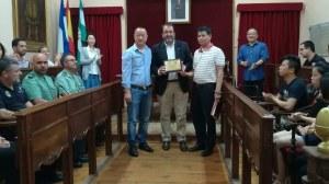 Agradecimiento comunidad china en Carmona /Ayto. Carmona