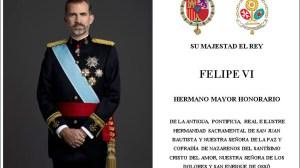 Invitación enviada al rey Felipe VI /SA