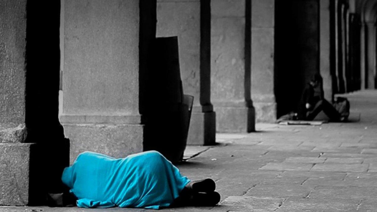 Personas sin hogar /Cáritas Sevilla