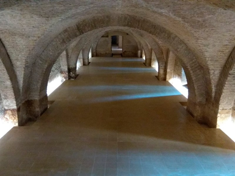 Semisótano del Palacio de Pedro I /Ayto. Sevilla