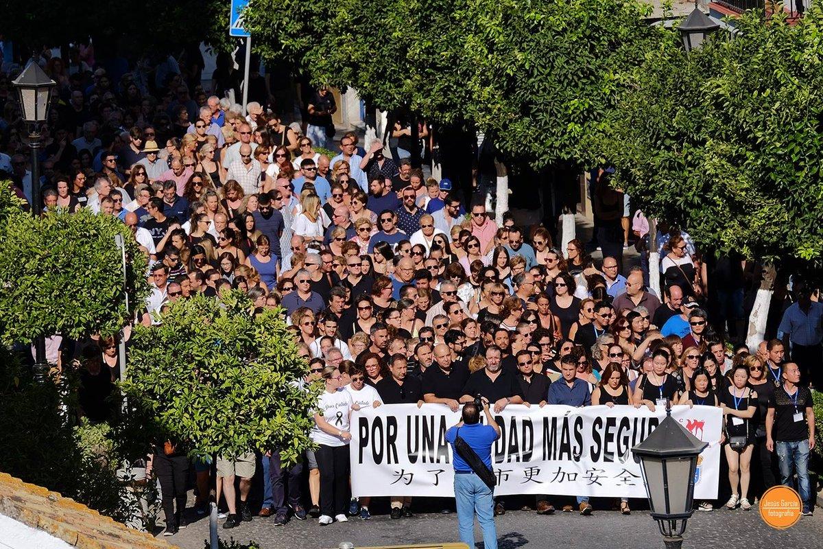 Manifestación en Carmona /SA