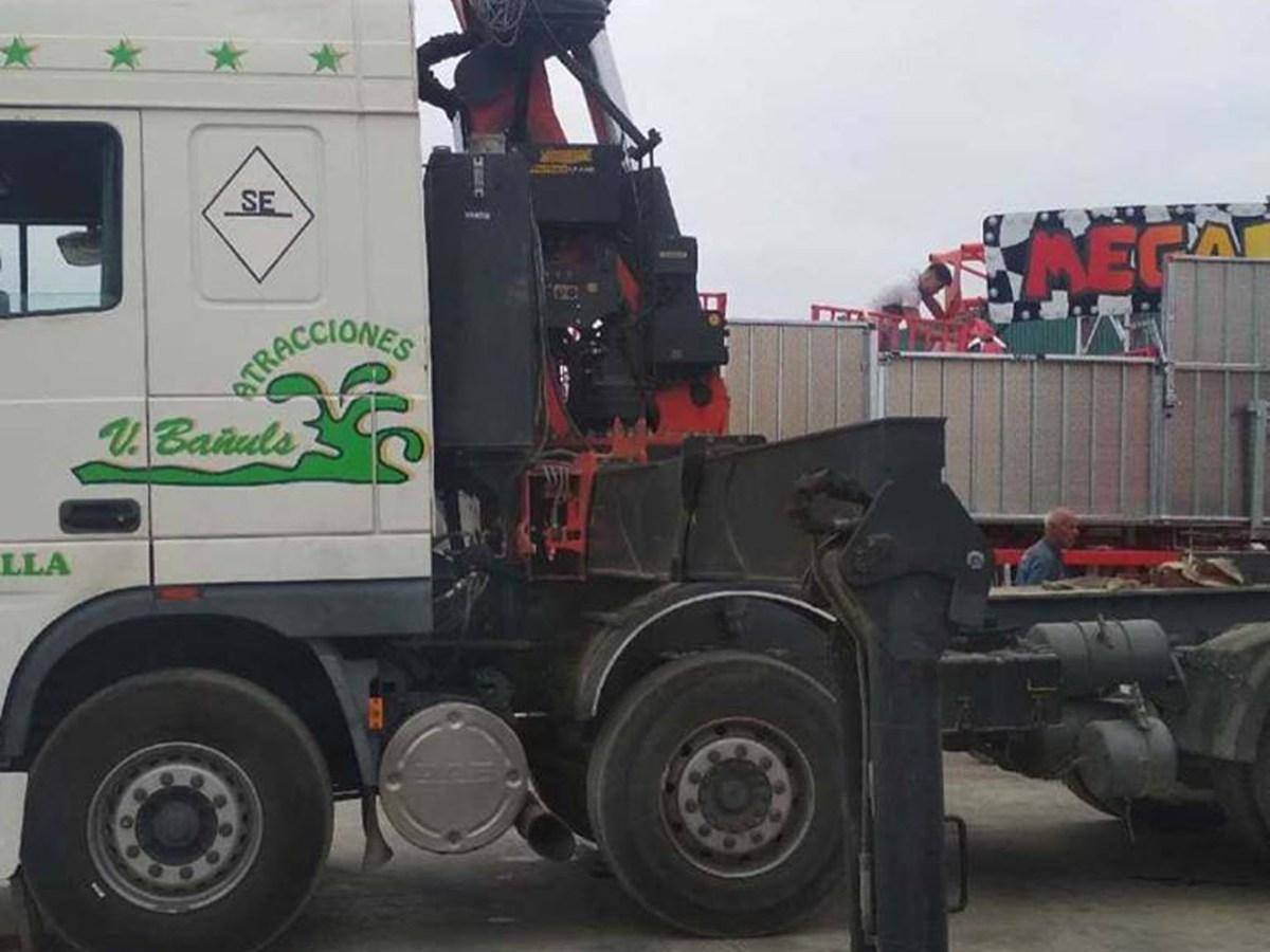 El camión robado /V.Bañuls Grupo Atracciones