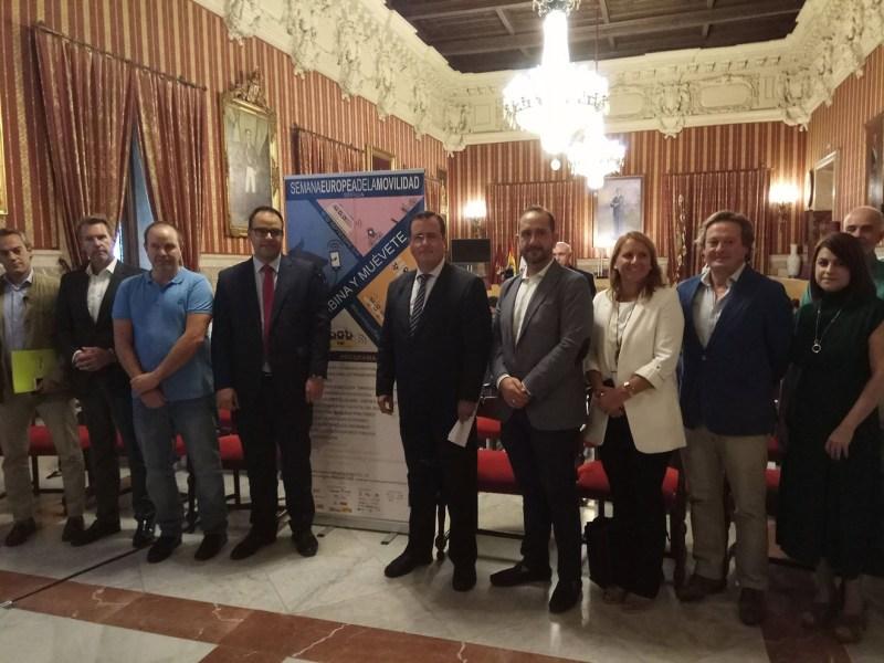Presentación Semana Europea de la Movilidad /Ayto. Sevilla