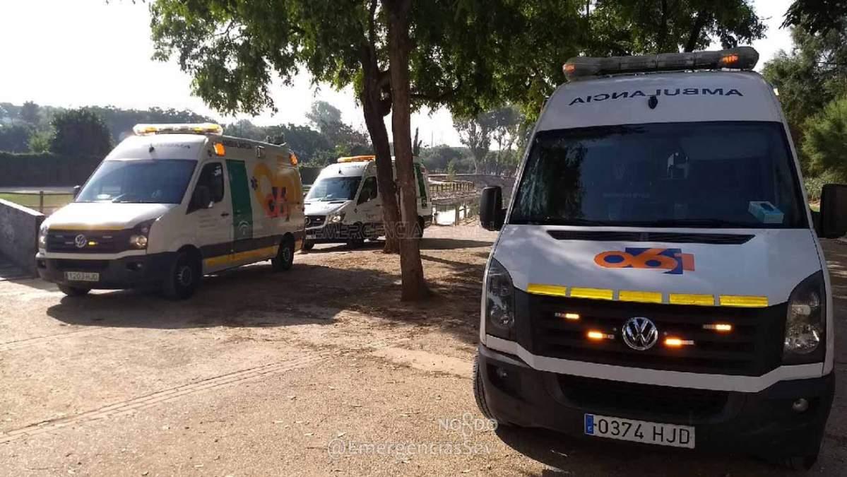 Emergencias en Parque Miraflores /@EmergenciasSev