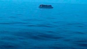 Inmigrantes rescatados /Salvamento Marítimo