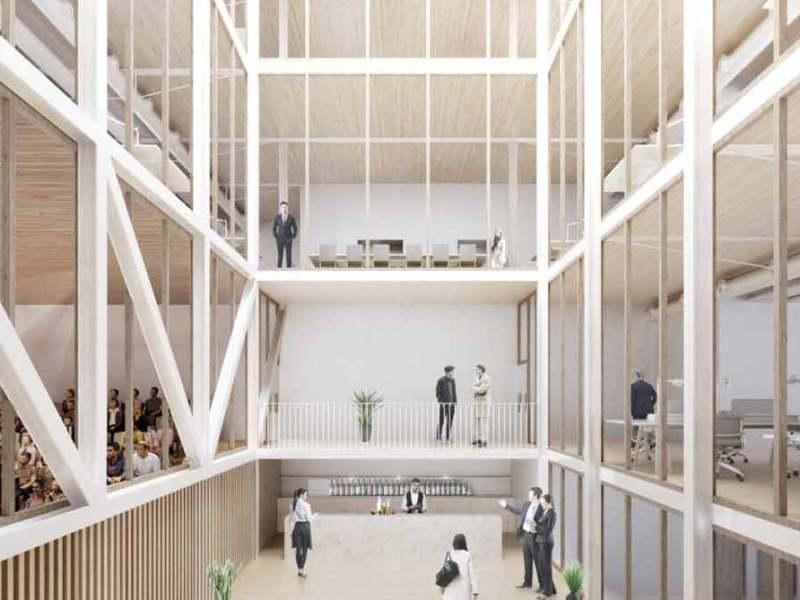 Proyecto presentado / Colegio Oficial de Arquitectos de Sevilla