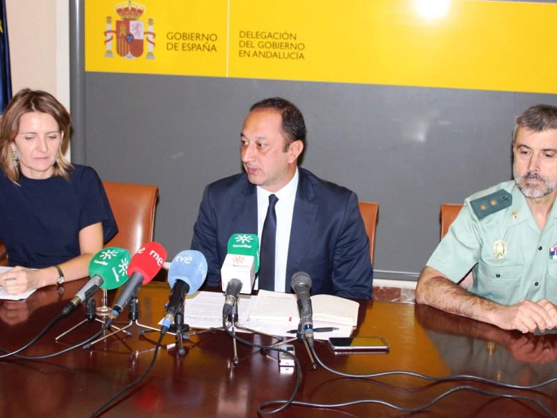 Reunión anual de la Comisión de Tráfico / Delegación de Gobierno de Andalucía
