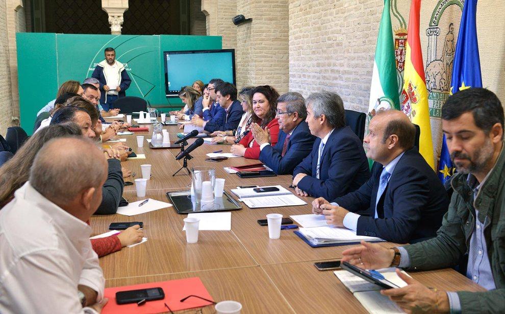 Reunión Junta con el Gobierno /Junta