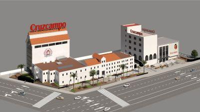 Así quedará la antigua fábrica de Cruzcampo / Heineken