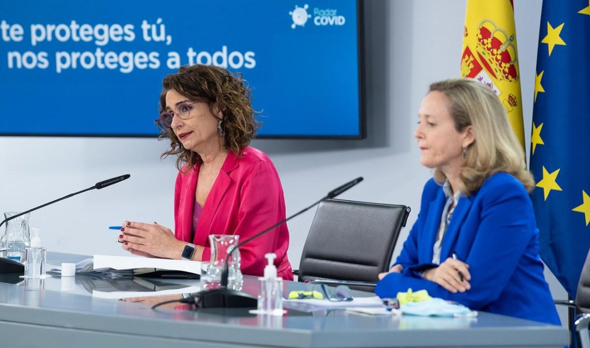 María Jesús Montero y Nadia Calviño