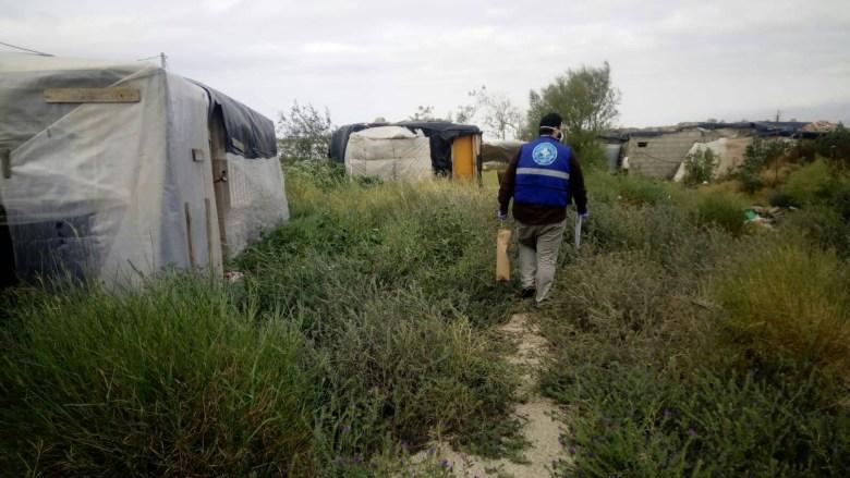 Asentamientos de inmigrantes en Almería