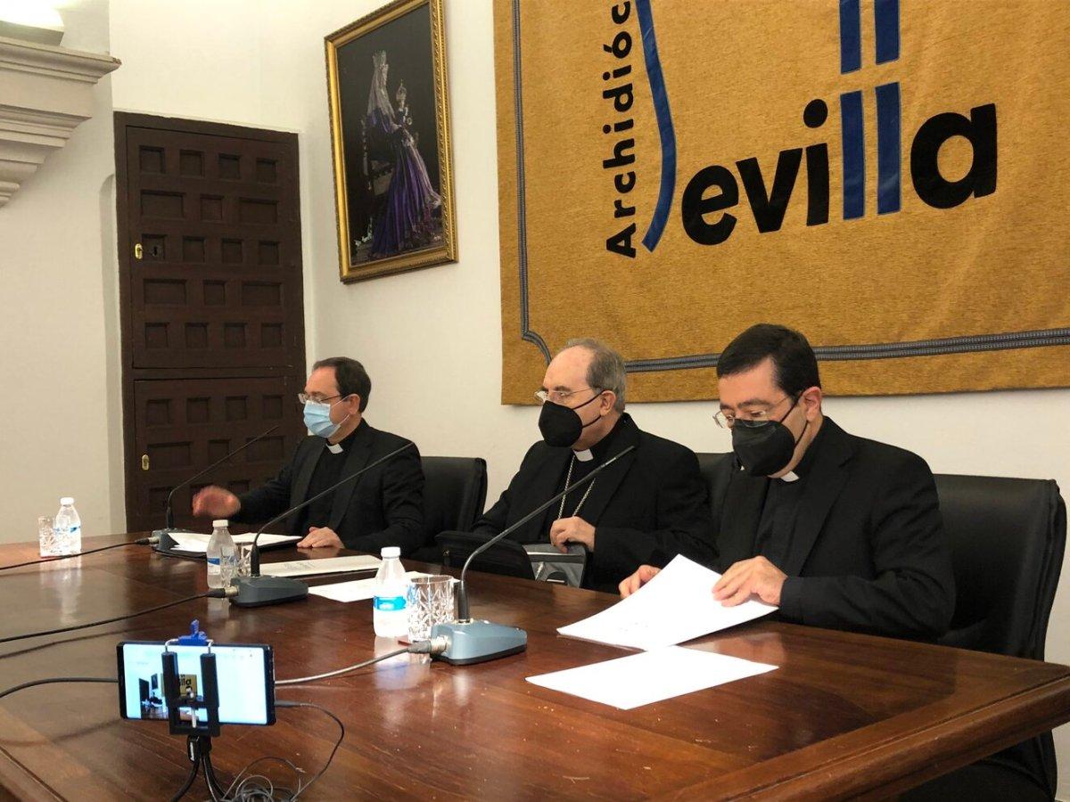 Anuncio del nombramiento de Meneses como arzobispo de Sevilla / Archidióceses de Sevilla